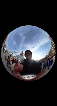 Huawei EnVizion 360 Camera Crystal Ball Sample 3