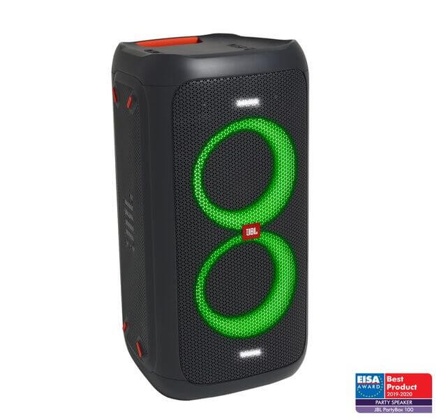 JBL PartyBox 100 lightshow bluetooth party huge design