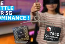 MediaTek Dimensity 1000L vs Qualcomm Snapdragon 765G