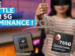 MediaTek Dimensity 1000L vs Qualcomm Snapdragon 765G