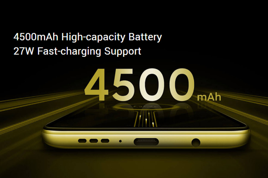 POCO X2 4500mAh battery 27W fast charging