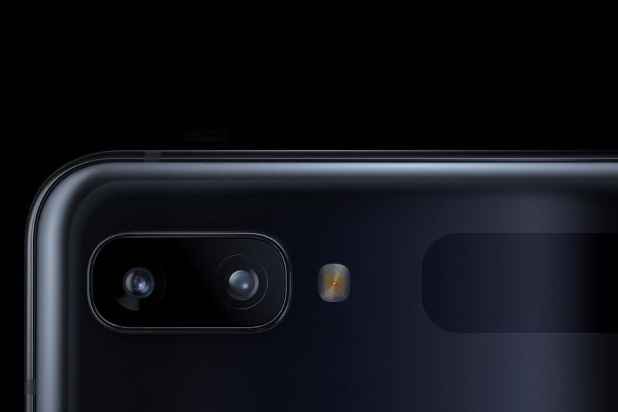 Samsung Galaxy Z Flip rear cameras