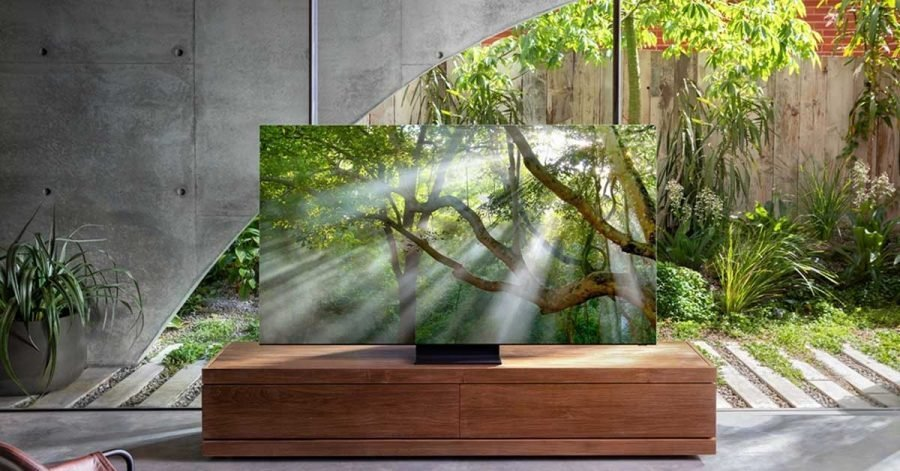 Samsung New 8K QLED TV with AI technology