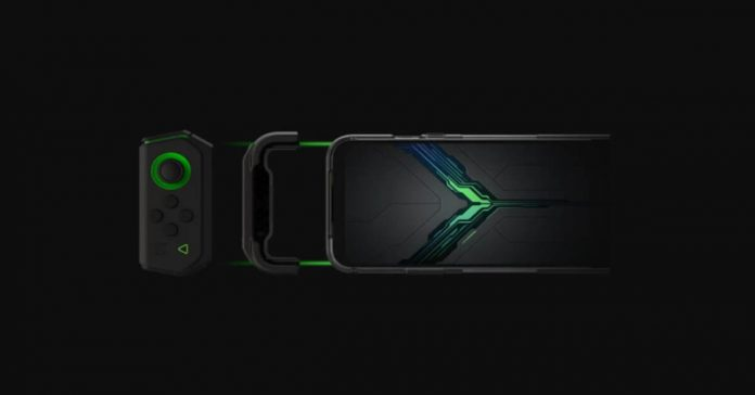black shark gaming samrtphone 120Hz display gamepad asthetics design back rear black