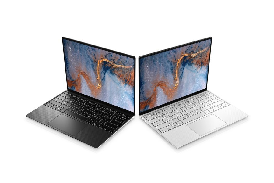 dell xps 13 design black silver screen