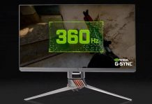 ASUS ROG SWIFT 360 gaming monitor refresh rate