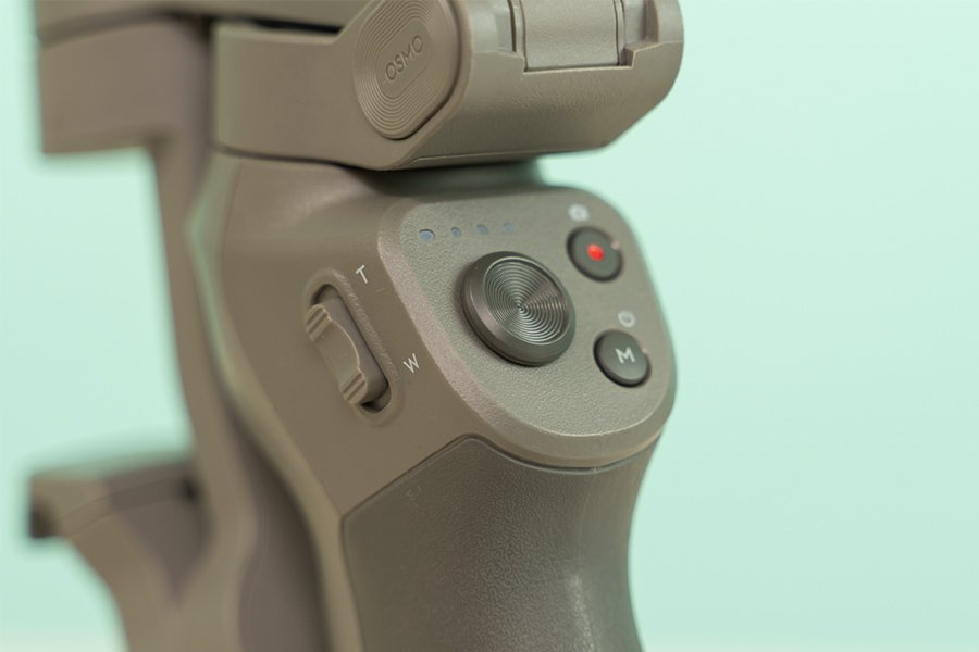 DJI Osmo Mobile 3 Design - Buttons