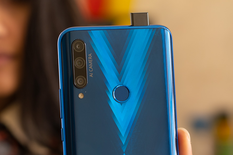 Honor 9X Pop-up camera