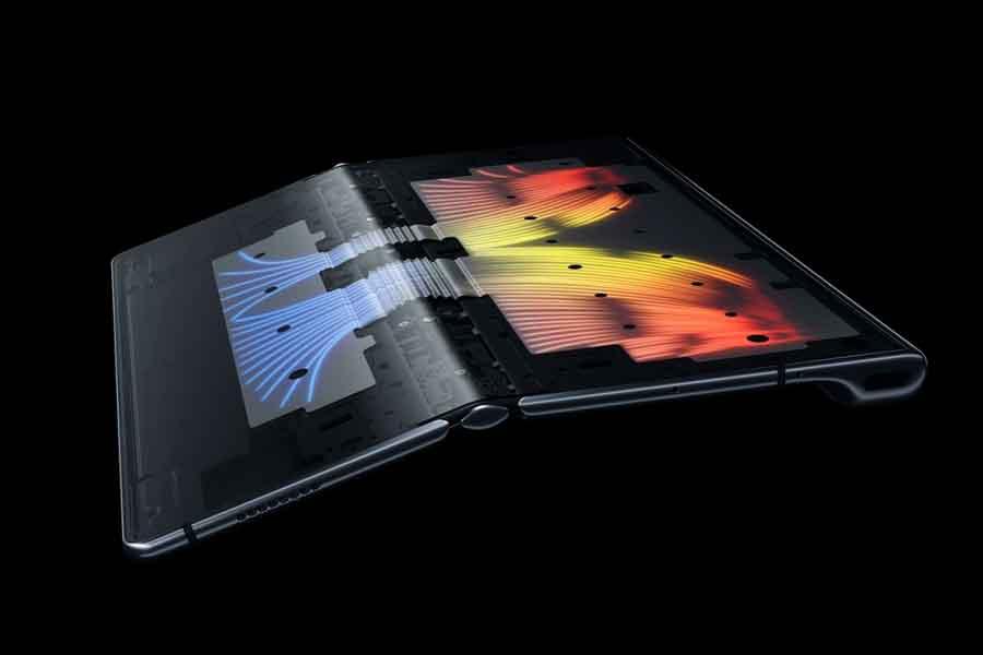 Huawei Mate Xs innovative cooling technology