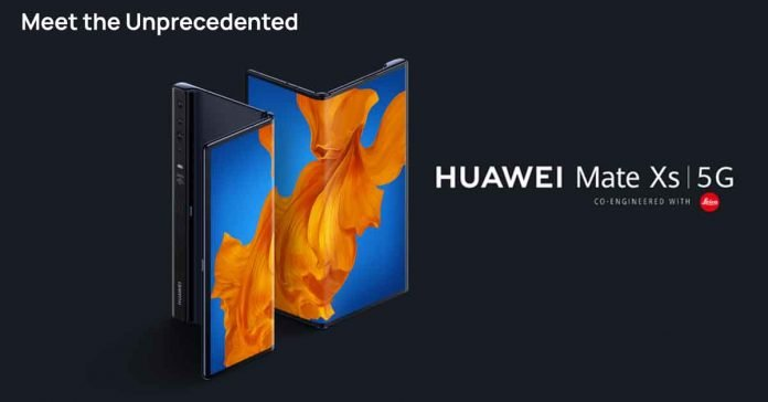 Huawei Mate Xs 5g launch