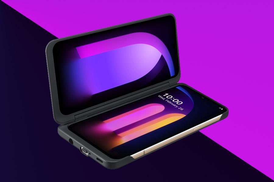 LG V60 ThinQ Dual-display
