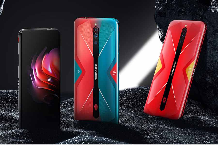 Nubia Red Magic 5G design color options