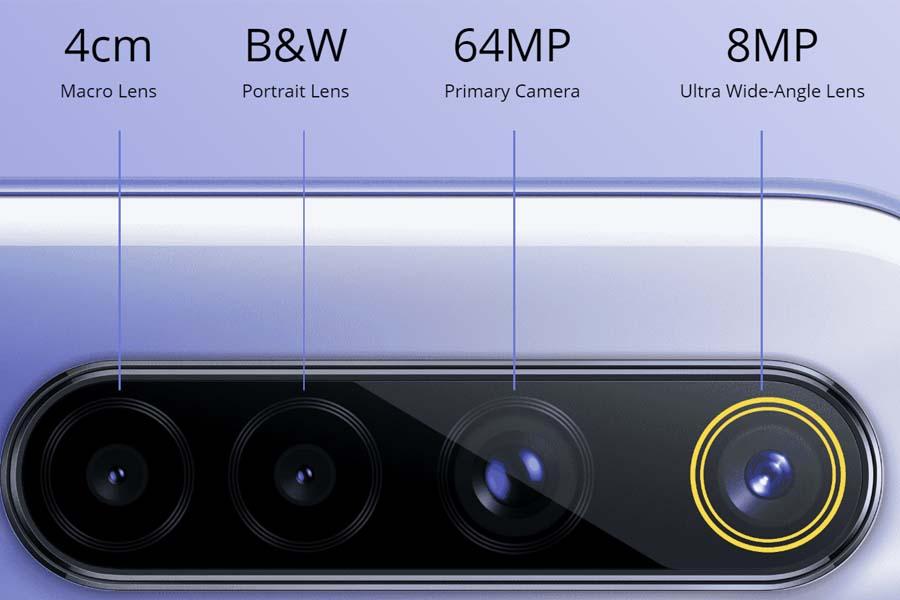 Realme 6 quad camera setup specifications
