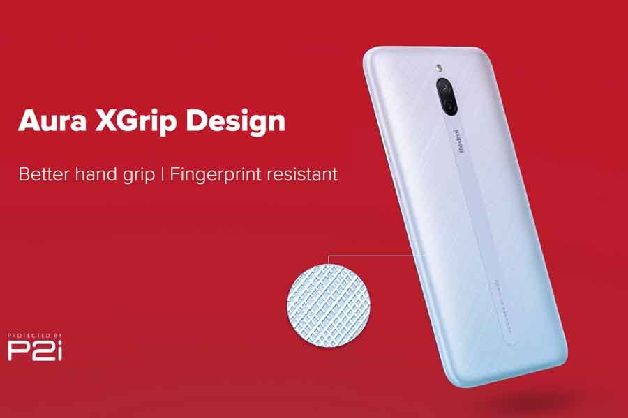 Redmi 8A Dual Aura XGrip Design