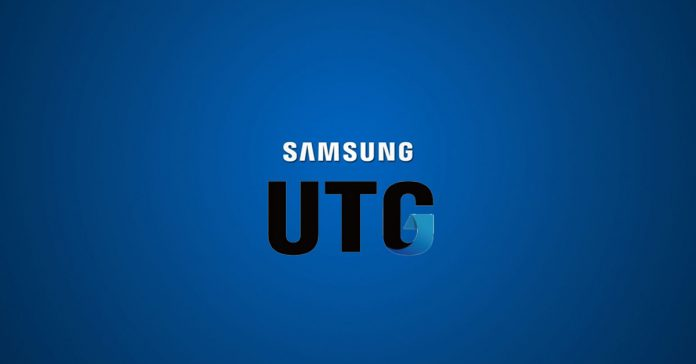 Samsung UTG (Ultra-Thin Glass) Display Technology