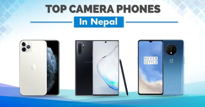 best camera phones nepal