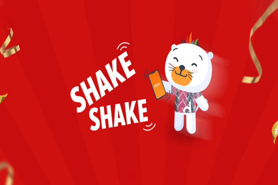 daraz shake shake in-app game offer deals discounts