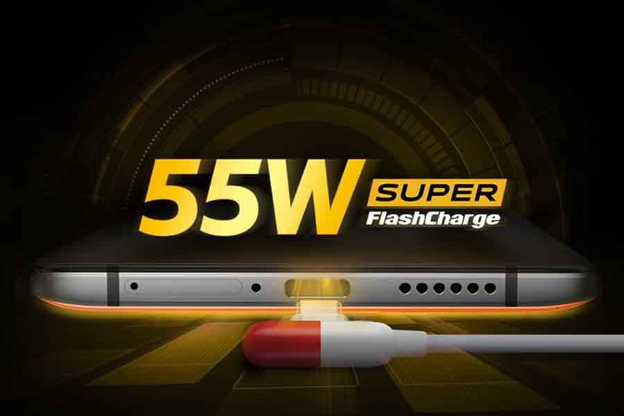 iQOO 3 55w fast charging
