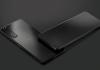 sony xperia mark 10 II black sleek display