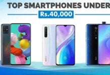 Best Smartphones Under Rs. 40,000 in Nepal samsung oppo vivo xiaomi redmi