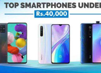 Best Smartphones Under Rs. 40,000 in Nepal samsung oppo vivo xiaomi redmi