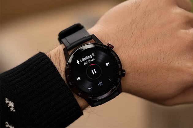 Honor MagicWatch 2 - Playing music