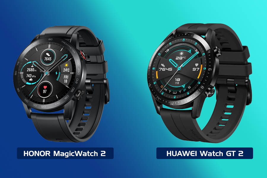 Honor MagicWatch 2 vs Huawei Watch GT 2