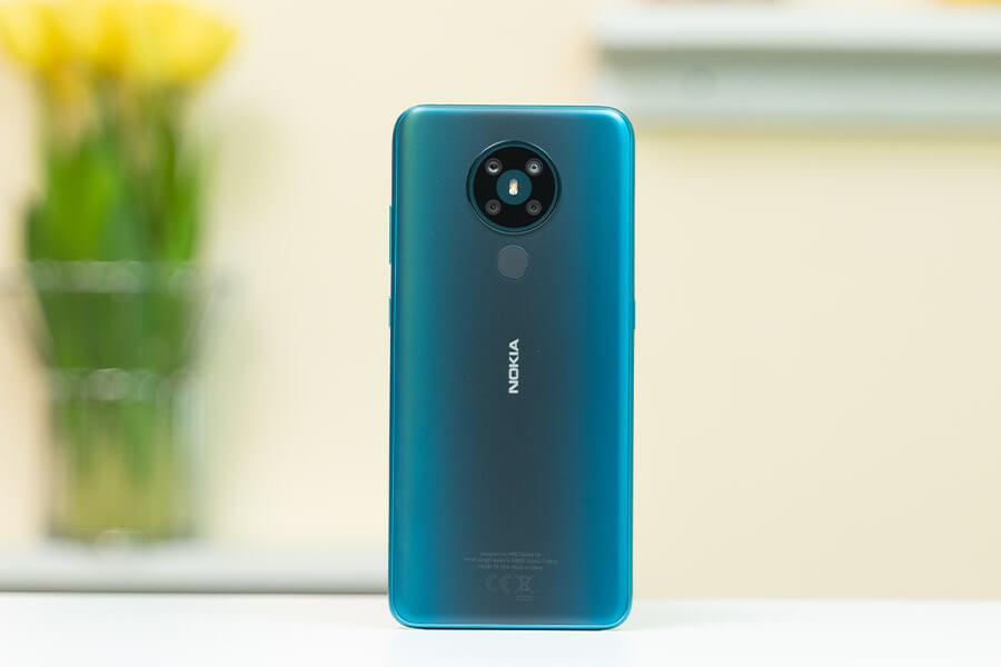 Nokia 5.3 - Design - Cyan