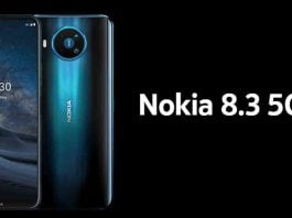 Nokia 8.3 5G, specs, price in Nepal and launch date