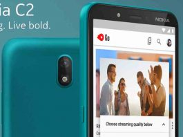 Nokia C2 specs, launch and Price in Nepal