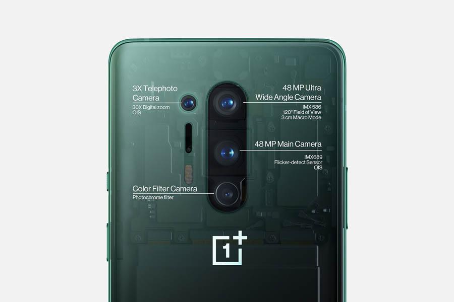 OnePlus 8 Pro rear cameras