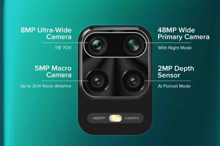 Redmi Note 9 pro Camera setup