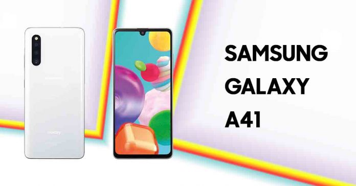 Samsung Galaxy A41 Japanese variant specs, price in nepal and launch and
