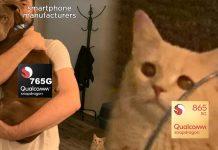 Smartphone manufacturers opting Snapdragon 765G instead of flagship 865