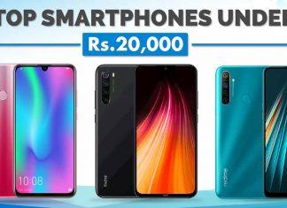 Top Smartphones under Rs. 20000 in Nepal