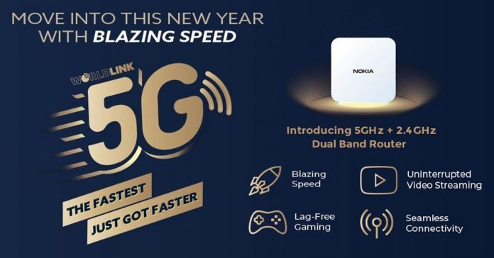 worldlink 5G dual band router offer