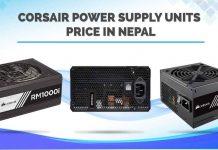 Corsair Power Supply Unit Price Nepal PSU specs availability gaming accessories custom pc build