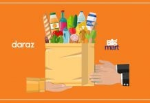 Daraz Bigmart delivering essential goods