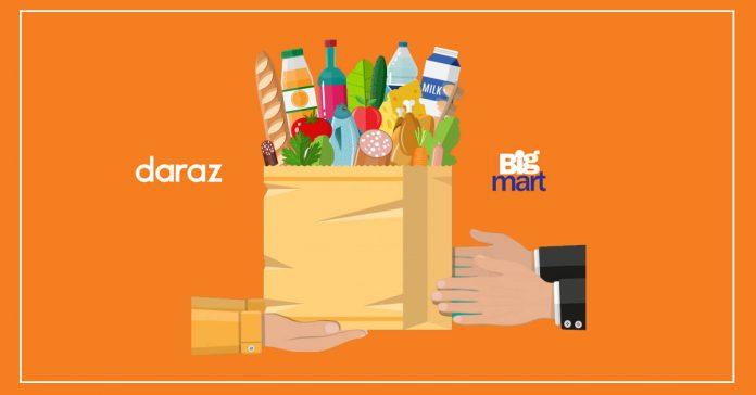 Daraz Bigmart delivering essential goods