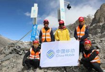 Everest Base Camp 5G Network Coverage