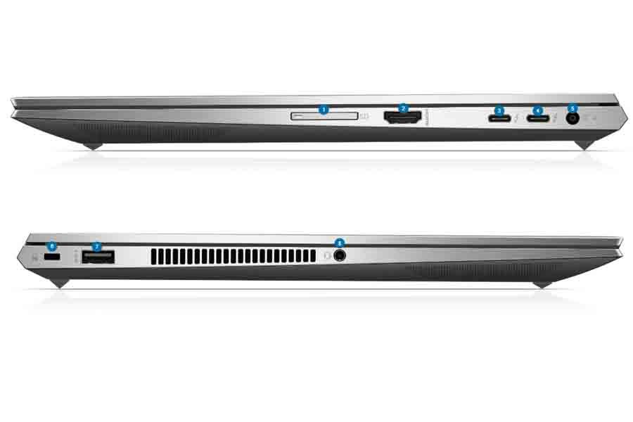 HP ZBook Studio Create G7 ports design specs price launch