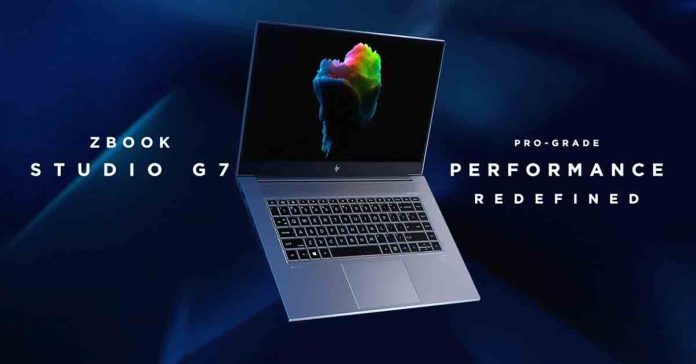 HP ZBook series G7 Create Studio Launched specs price availability