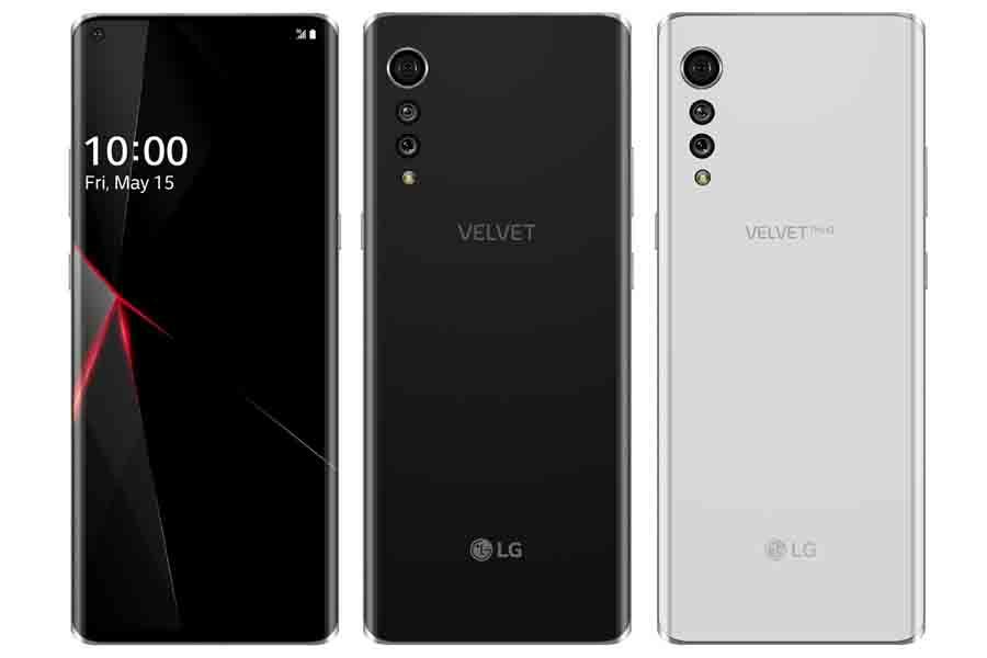 LG Velvet leaked renders rumors specs launch
