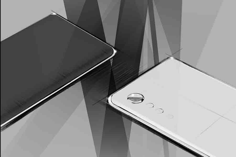 LG Velvet official concept sketches