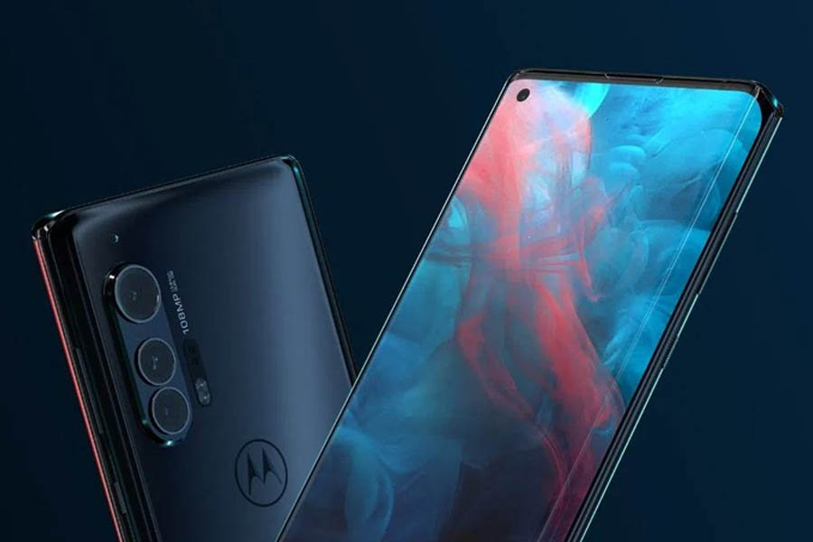 Motorola Edge+ DIsplay, Design
