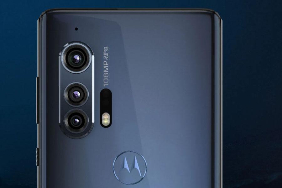 Motorola Edge+ Rear Cameras