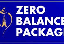 Nepal Telecom (NTC) Zero Balance Package