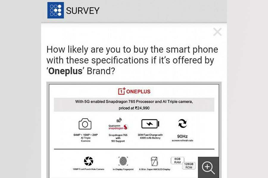 OnePlus Z - Survey on DesiDime