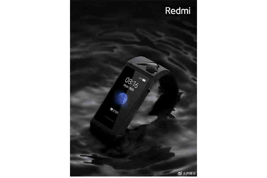 RedmI band black color specs price availability