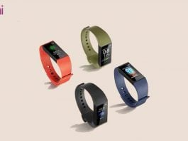 Redmi Band launched specs price availability vs relame band